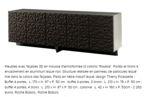 buffet rosace Roche Bobois