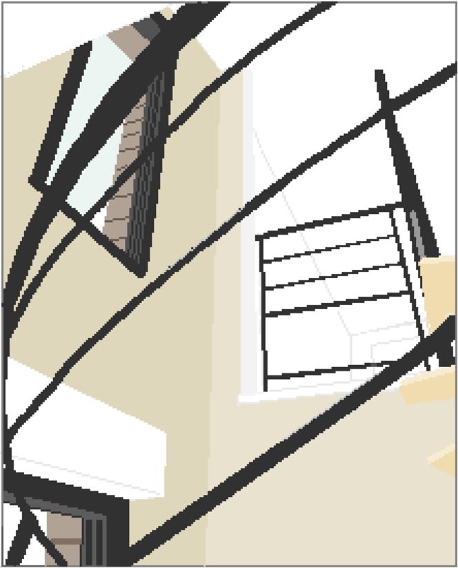 escalier haut