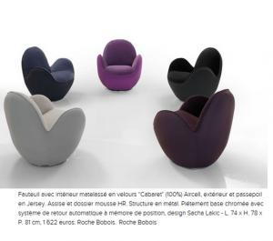 fauteuils Cabaret Roche Bobois