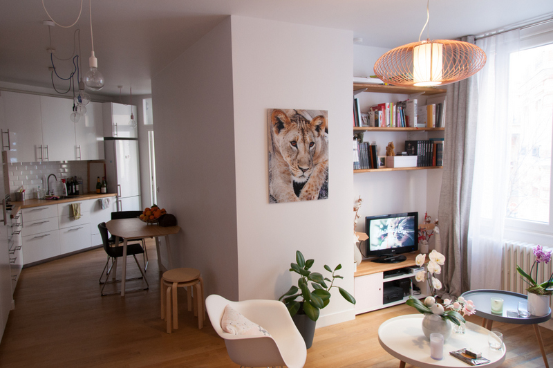 6.panoramique cuisine - séjour