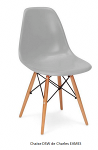 chaise DSW de Charles EAMES