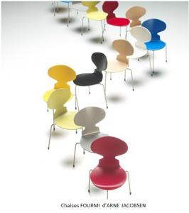chaise Fourmi d'Arne Jacobsen