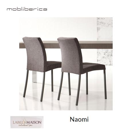 Capture chaises Naomi